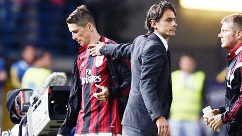 Milan đã hết kiên nhẫn với Torres