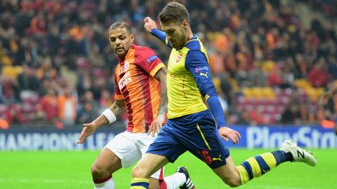 Ramsey sẽ phải ngồi ngoài 4 tuần