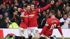 M.U 3-0 Liverpool: Quỷ đỏ tiếp tục hồi sinh