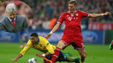 Nếu lại phải sớm gặp Bayern tại vòng 1/8 thì quả là quá đen đủi cho thầy trò HLV Wenger