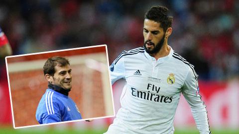 Isco và Casillas nhận được phản hồi tích cực từ dư luận