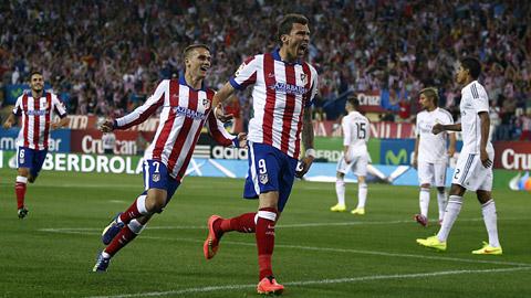 Atletico sẽ đụng độ Real ở vòng 1/8 Cúp Nhà vua