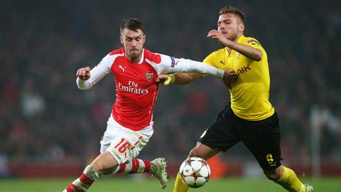 Ramsey đang không có được thể trạng tốt nhất