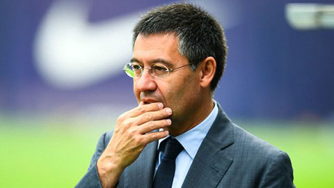 Chủ tịch Bartomeu của Barca