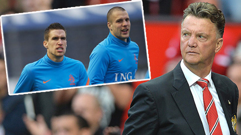 Strootman và Vlaar đang là mục tiêu theo đuổi của Van Gaal