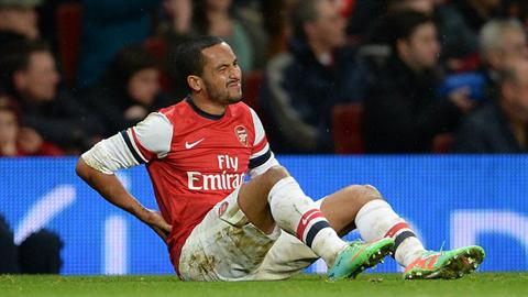 Walcott có thể trở lại vào thời điểm này là tin mừng cho Arsenal