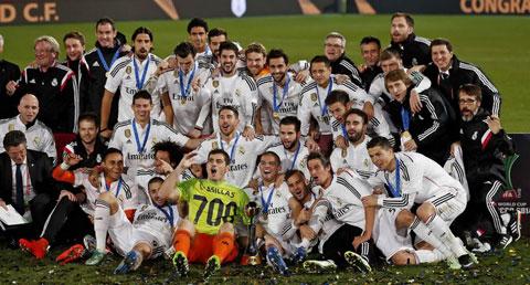 Casillas chưa để thua bàn nào ở FIFA Club World Cup 2014