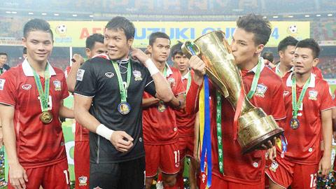Thái Lan đã được hưởng trái ngọt sau nhiều năm vun trồng và tin tưởng vào cầu thủ trẻ