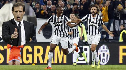 Thầy trò Allegri sẽ khép lại năm 2014 bằng cách đánh bại Napoli để giành Siêu Cúp Italia
