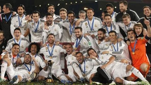 Real trải qua một năm thành công với 4 chức vô địch