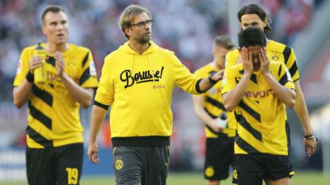 """Dortmund kết thúc lượt đi ở nhóm """"Cầm đèn đỏ"""": ..."""