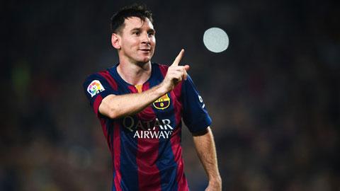 Messi là cầu thủ Barca sở hữu tốc độ tốt nhất