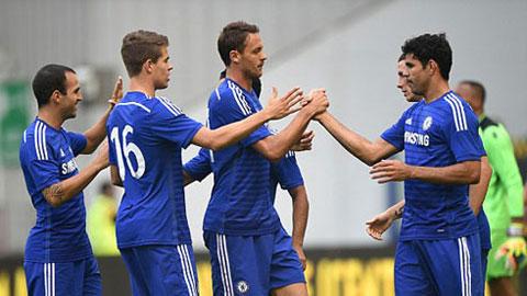 Chelsea đang bay cao dưới sự dẫn dắt của HLV Mourinho