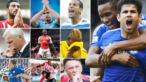 17 vòng đấu tràn ngập cảm xúc của Premier League đã đi qua