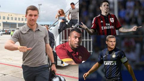 Liệu Podolski có đi vào vết xe đổ của những tiền bối nếu sang Serie A?