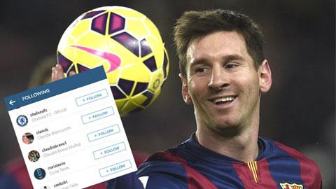 Messi bắt đầu để ý đến Chelsea