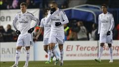 Atletico Madrid 2-0 Real Madrid: Thêm một cú ngã (luot di cup nha vua