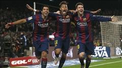 Barcelona 3-1 Atletico Madrid: Khi tam tấu lên tiếng