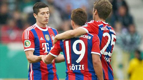 Một chiến thắng đậm là mục tiêu rất khả thi của Bayern