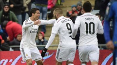 Getafe 0-3 Real Madrid: Đẳng cấp lên tiếng