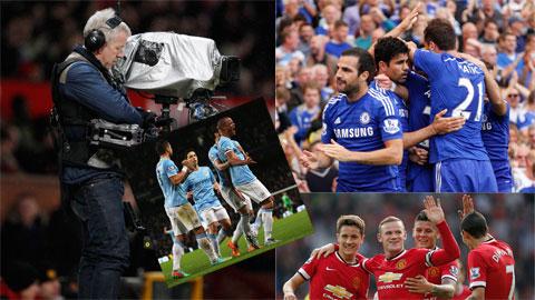 Man United, Man City hay Chelsea đều ghi nhận những khoản doanh thu khổng lồ ở mùa 2013/14