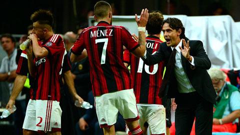 Cuộc chạm trán Parma cuối tuần này có thể là cơ hội cuối để Inzaghi giữ ghế HLV tại Milan