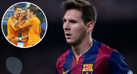Lionel Messi nguy hiểm hơn bộ ba BBC của Real Madrid