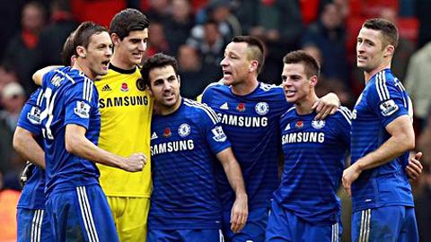 Chelsea luôn biết cách vượt lên trước đối thủ