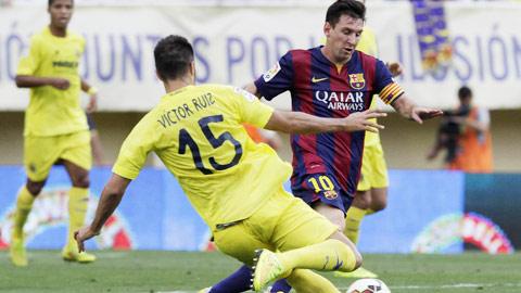Messi và đồng đội sẽ phải đối đầu với Villarreal tới 3 lần trong tháng 2 này