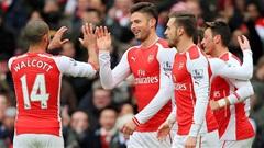 Arsenal 5-0 Aston Villa: Pháo thông nòng