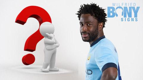 Phí chuyển nhượng thực của Bony từ Swansea đến Man City có thực được công bố?