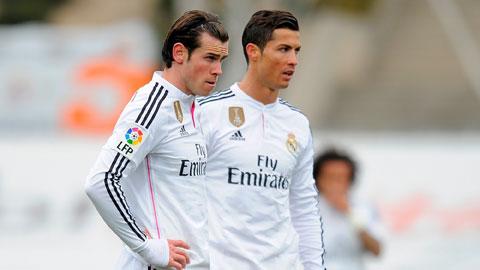 Việc Bale tìm cách vượt mặt Ronaldo rất được cổ vũ ở Real