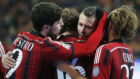 Milan đã có được chiến thắng đầu tiên ở Serie A trong năm mới