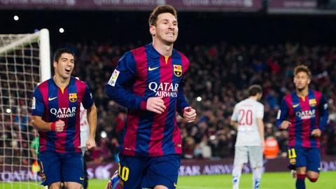 Messi đang từng bước trở lại với phong độ cao nhất