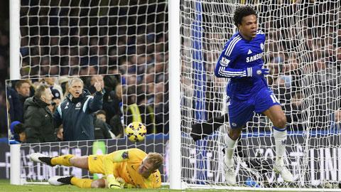 Với đội hình thiếu nhiều trụ cột, Chelsea vẫn có được 1 điểm trước Man City để giữ vững ngôi đầu