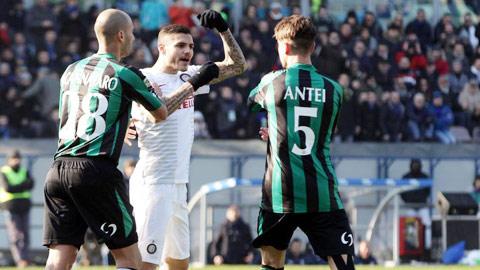 Icardi nổi nóng, thầy trò Mancini thất bại, các CĐV Inter hẳn muốn mau quên trận đấu vừa qua