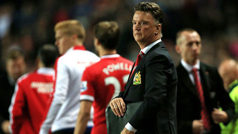 HLV Van Gaal đang cách mạng triệt để đội hình của M.U