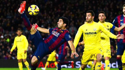 Luis Suarez vẫn vô duyên trước khung thành