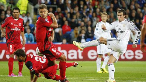 Real (áo trắng) sẽ không khó có 3 điểm đêm nay khi đã thắng cả 7 trận gần đây    tiếp Sevilla