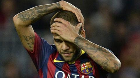 Alves sẽ trở thành cầu thủ tự do cuối mùa giải này