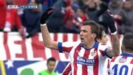 Atletico Madrid 4-0 Real Madrid: Thế trận trên chân