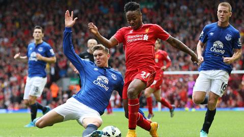 Đang thăng hoa, Liverpool (giữa) đủ sức vùi dập đối thủ ngay tại Goodison Park