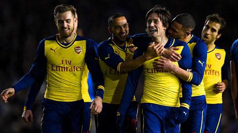 Arsenal sẽ có suất dự Champions League mùa tới?