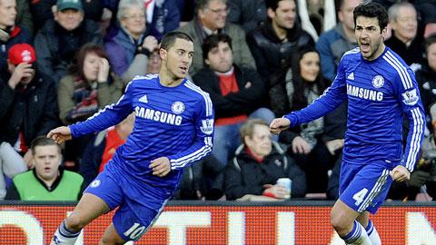 Hazard đang chứng tỏ tầm quan trọng số một ở Chelsea