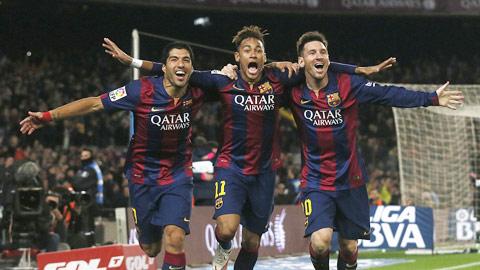 Bộ ba Messi-Suarez-Neymar sẽ giúp Barca đè bẹp Bilbao<br />