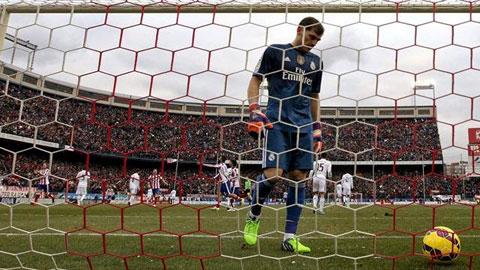 Casillas đã chơi rất tệ ở trận đấu tối qua