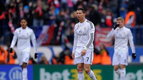 Real vừa phải nhận thất bại muối mặt trên sân của Atletico