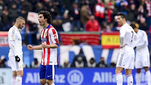 Tiago ghi bàn mở tỷ số cho Atletico