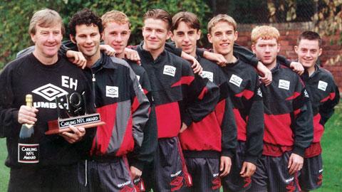 Van Gaal cần học cách Sir Alex ươm mầm thế hệ vàng 1992 tài danh