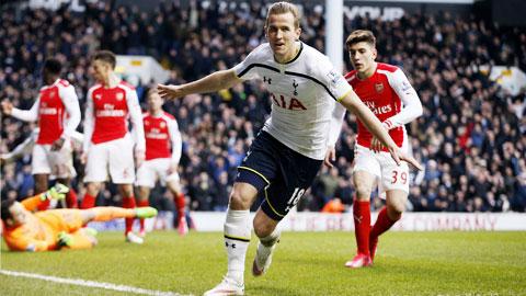 Kane là cầu thủ gốc London duy nhất trong số 22 cầu thủ đá chính ở trận Tottenham-Arsenal tối qua